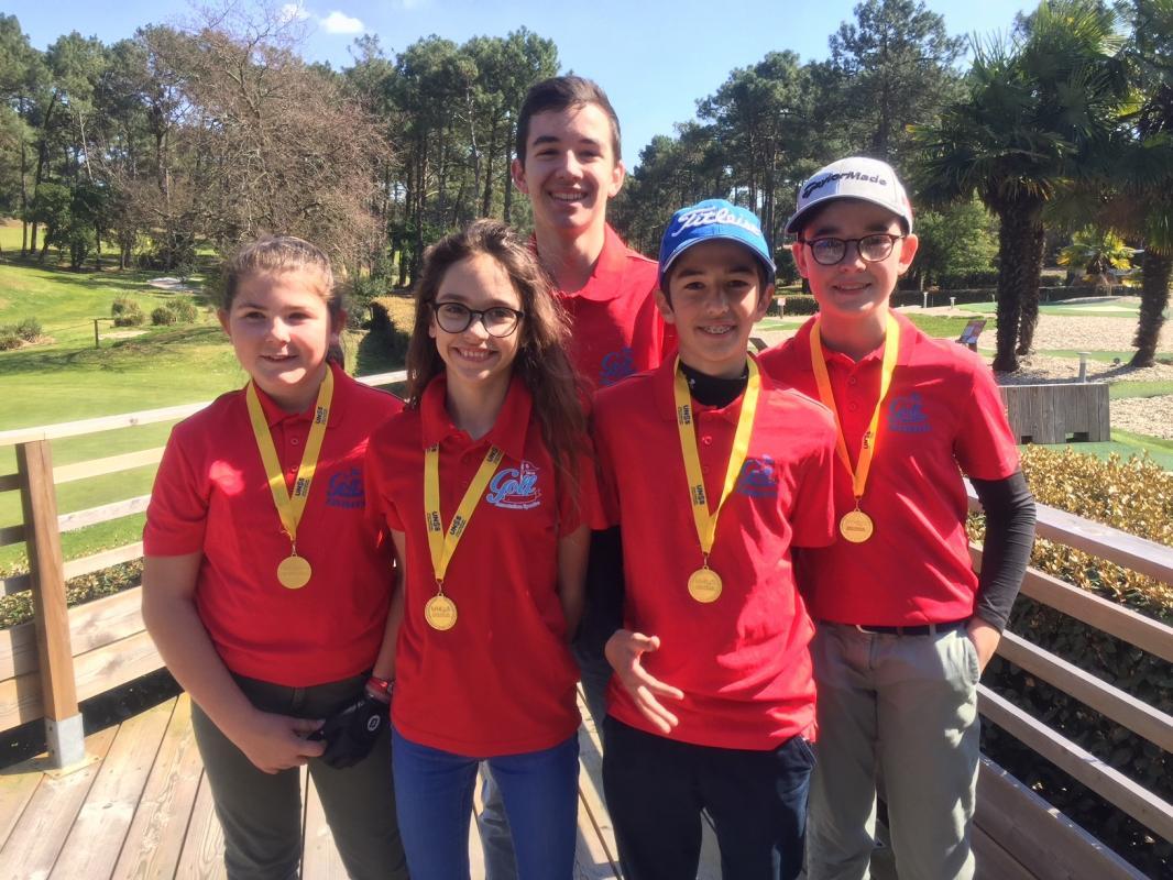 Championnat Académie golf UNSS